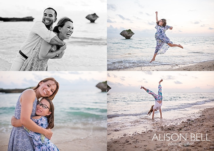 Alison Bell | Okinawa, Japan, toguchi beach, sunset, family, child, photography, milspouse, military life