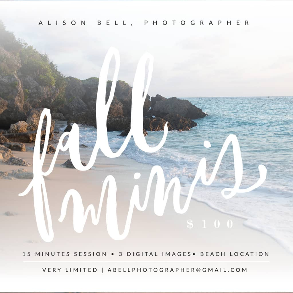 Alison bell, okinawa, half priced, mini session, family photographer
