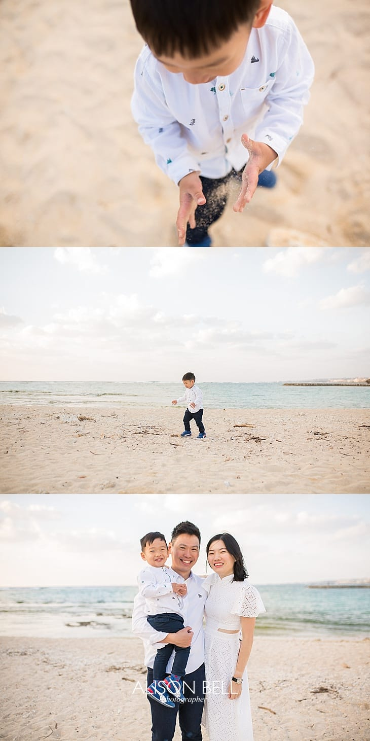 Okinawa travel family photography by Alison Bell, Photographer