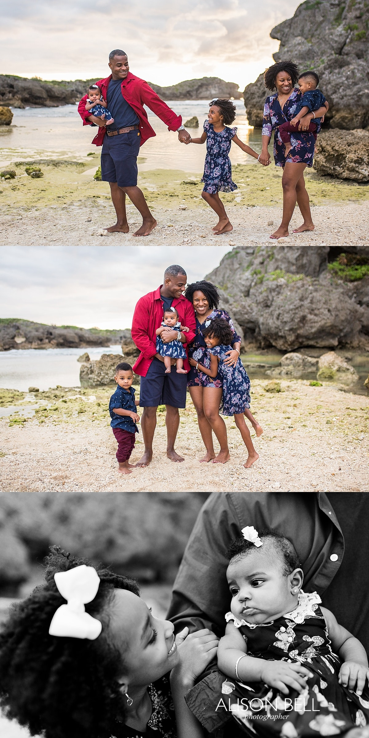 Half priced mini sessions on the beach in Okinawa Japan by Alison Bell Photographer - family and senior