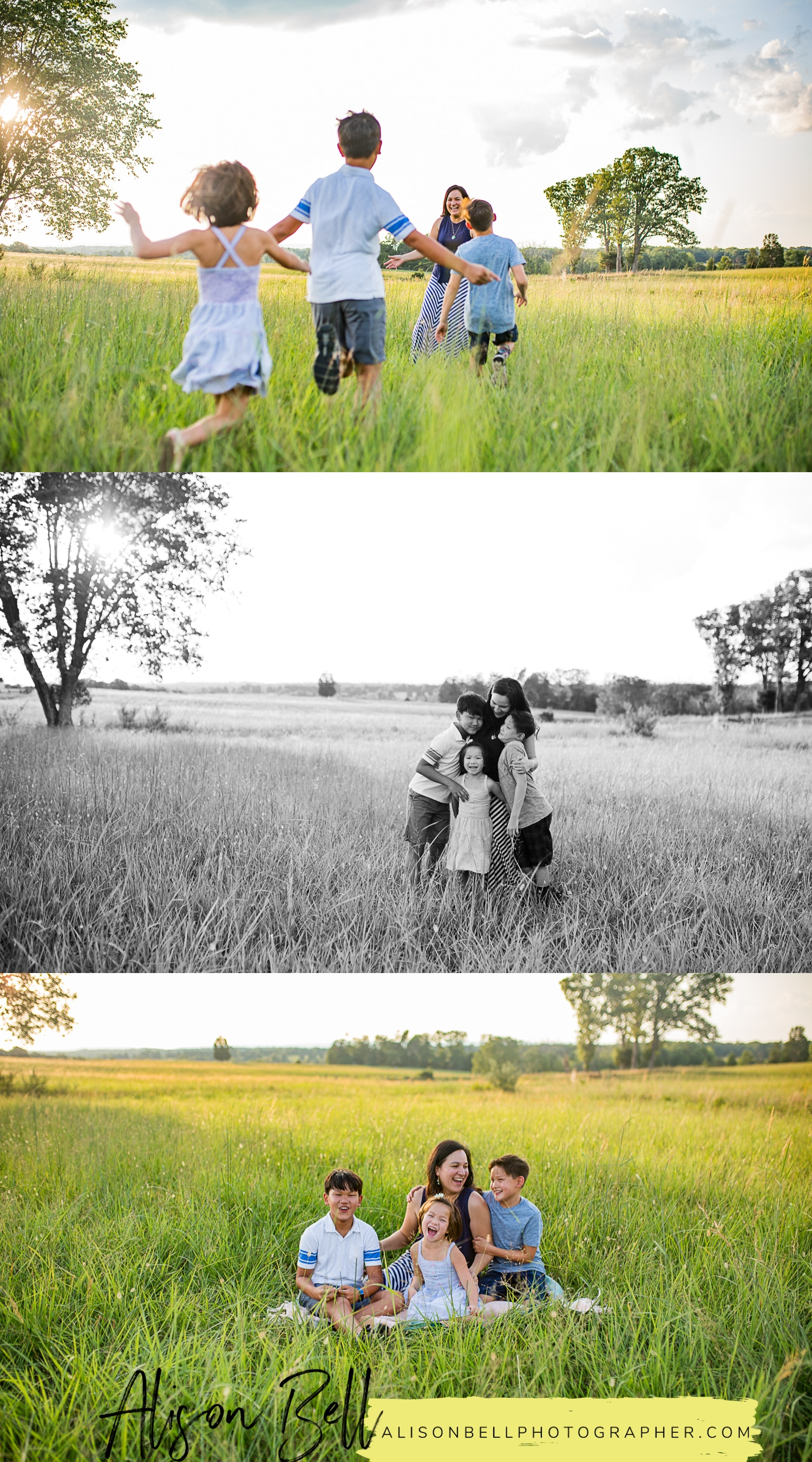 Half Priced mini family session at Manassas Battlefield, Virginia by Alison Bell, Photographer. Family photographer, family photography, Northern Virginia, NOVA, #alisonbellphotog alisonbellphotographer.com
