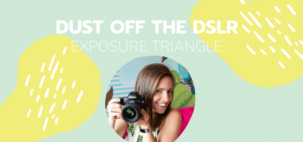 dslr camera tutorial on exposure triangle from alisonbell, photographer