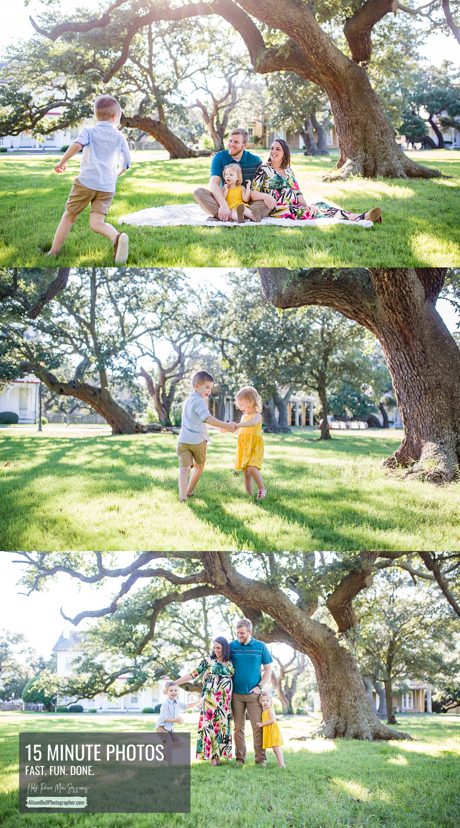 Fort Monroe family mini session photos by Alison Bell Photographer, alisonbellphotographer.com