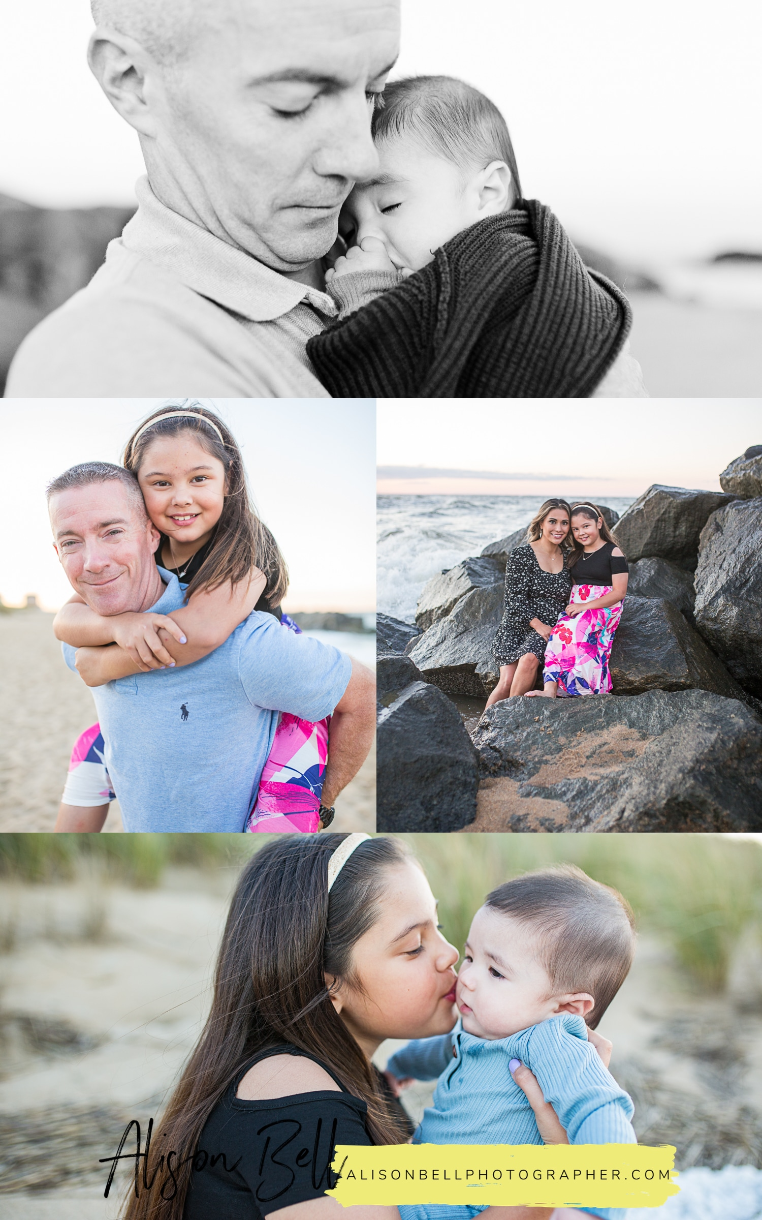 Fort Story Beach family session Virginia Beach VA