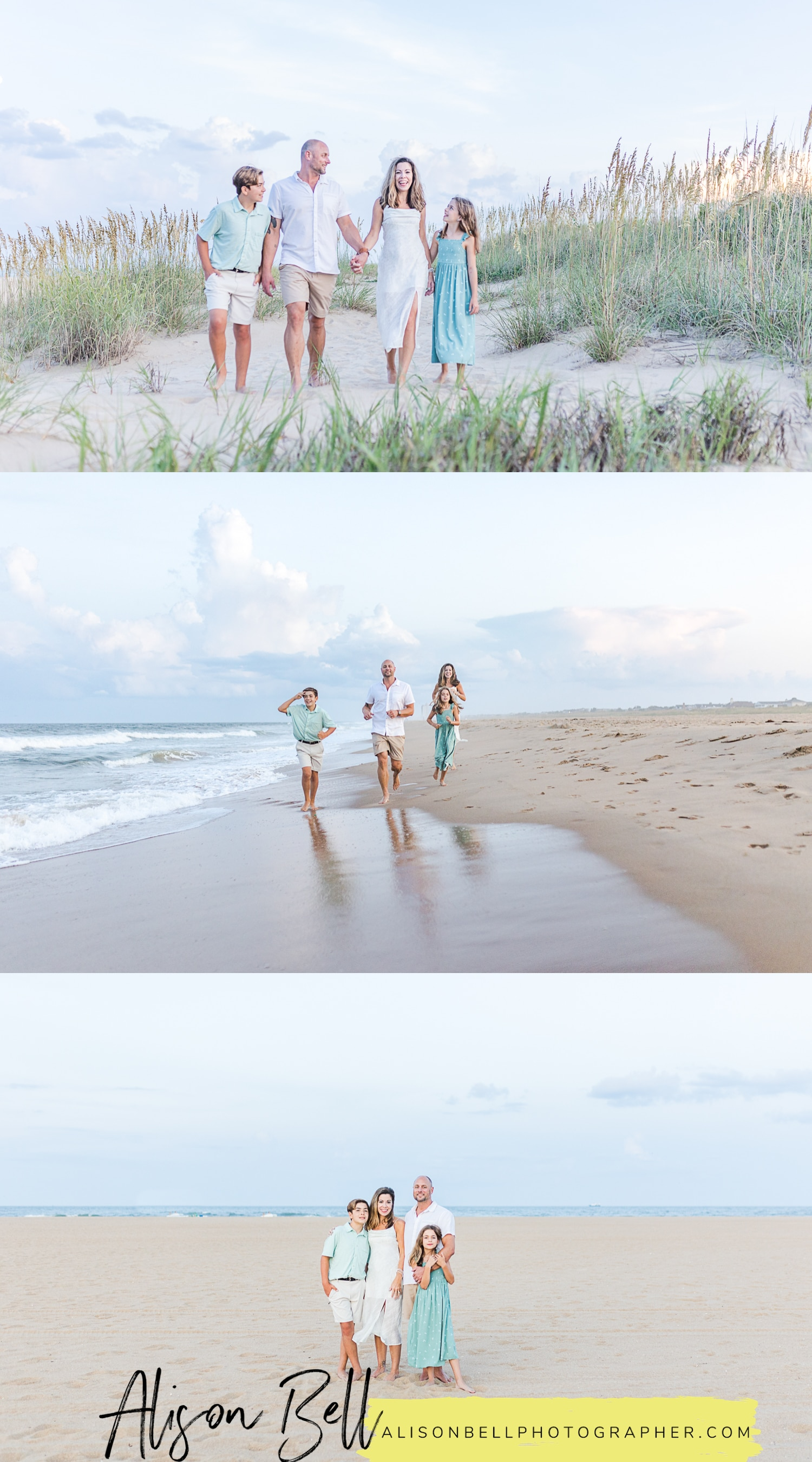 North end virginia beach family photo sessions at 81st by alison bell, photographer