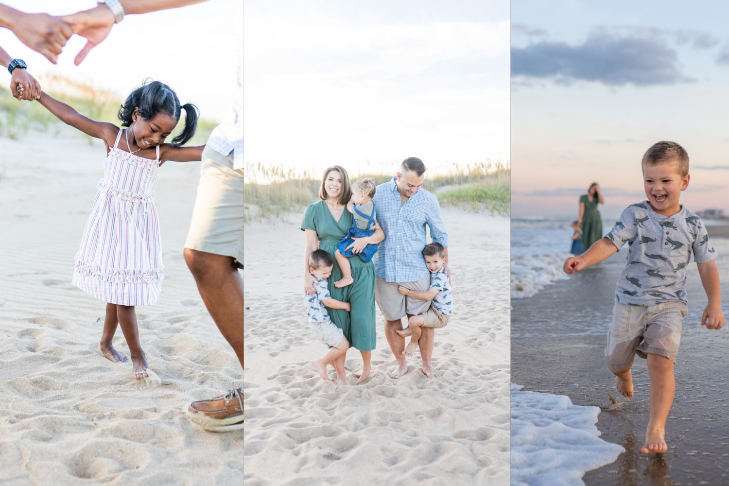 Virginia beach family photography at north end mini photo session by alison bell, photographer